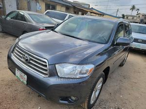 Toyota Highlander 2008 Limited 4x4 Gray | Cars for sale in Lagos State, Surulere