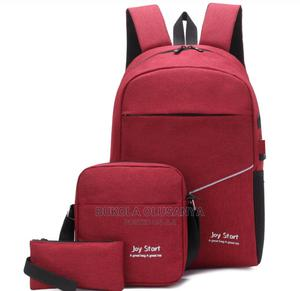 3in1 Laptop Bag With USB   Bags for sale in Lagos State, Ojota