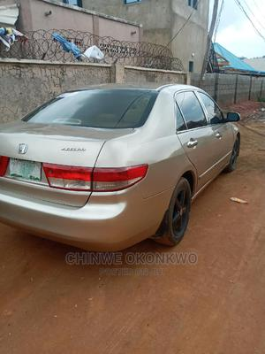 Honda Accord 2005 2.4 Type S Automatic Gold | Cars for sale in Abuja (FCT) State, Wuse 2