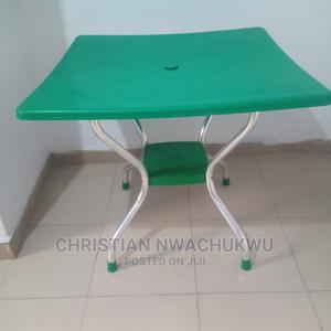 Strong Plastic Table With Metal Stands | Furniture for sale in Lagos State, Ajah