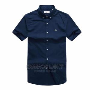 Quality Turkey Lacoste Short Leves Shirt | Clothing for sale in Lagos State, Surulere