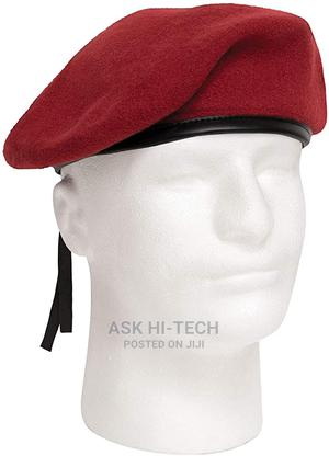 Maroon Red Beret   Clothing Accessories for sale in Lagos State, Mushin
