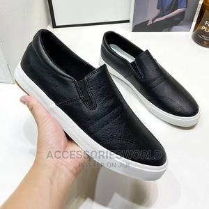 Leisure Men Pu Leather Flats Shoes Slip Casual Moccasins   Shoes for sale in Lagos State, Ikeja