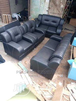 A 7 Seater of Sofa, Made With Leather | Furniture for sale in Lagos State, Agege