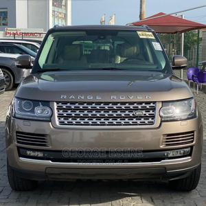 Land Rover Range Rover Vogue 2015 Gold   Cars for sale in Lagos State, Lekki