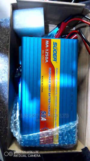 Quality 50ah 12v Battary Charger With Warranty   Solar Energy for sale in Lagos State, Ajah