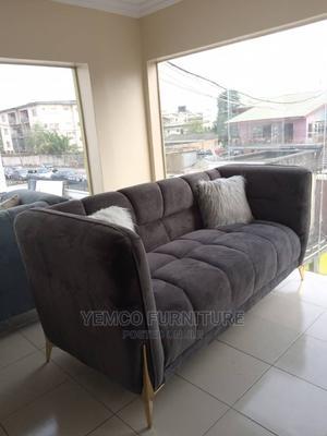 Three Sitter Modern Design Sofa   Furniture for sale in Lagos State, Agege