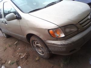 Toyota Sienna 2001 Gold | Cars for sale in Lagos State, Abule Egba