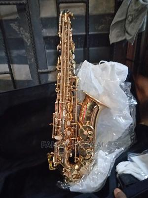 Yamaha Alto Professional Saxophone Gold Color | Musical Instruments & Gear for sale in Lagos State, Ojo