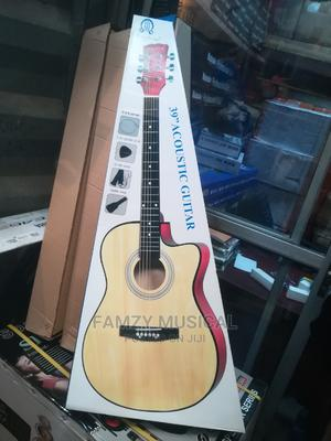 Size 39% Acoustic Box Guitar for Training | Musical Instruments & Gear for sale in Lagos State, Ojo
