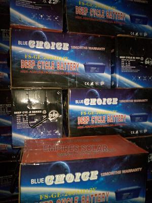 Blue Choice 200ah 12v | Solar Energy for sale in Lagos State, Ikeja