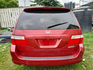 Honda Odyssey 2005 EX Automatic Red | Cars for sale in Lagos State, Ikeja