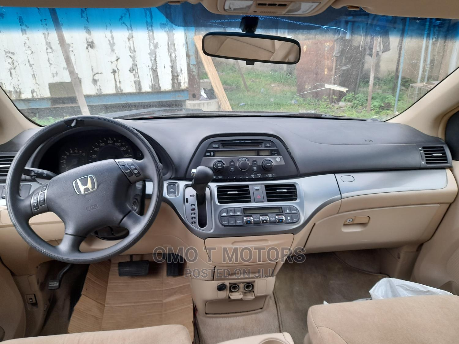 Honda Odyssey 2005 EX Automatic Red | Cars for sale in Ikeja, Lagos State, Nigeria