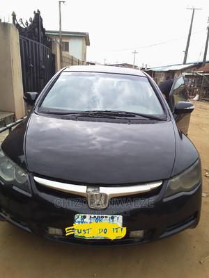 Honda Civic 2007 1.8 Black   Cars for sale in Lagos State, Ikorodu