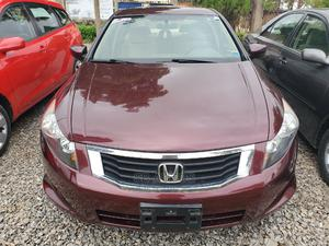 Honda Accord 2010 Sedan EX Automatic Red   Cars for sale in Kwara State, Ilorin West