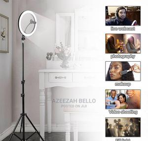 10inches Ring-Light With Tripod   Clothing Accessories for sale in Lagos State, Ejigbo
