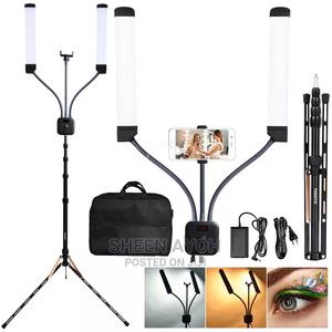 Double Ring Light Tripod for Makeup.   Accessories for Mobile Phones & Tablets for sale in Lagos State, Mushin