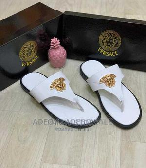Leather Pam Slipper | Shoes for sale in Ondo State, Akure