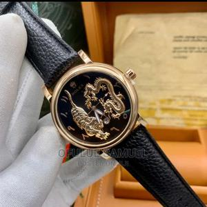 Rolex Leather Wristwatch   Watches for sale in Lagos State, Surulere