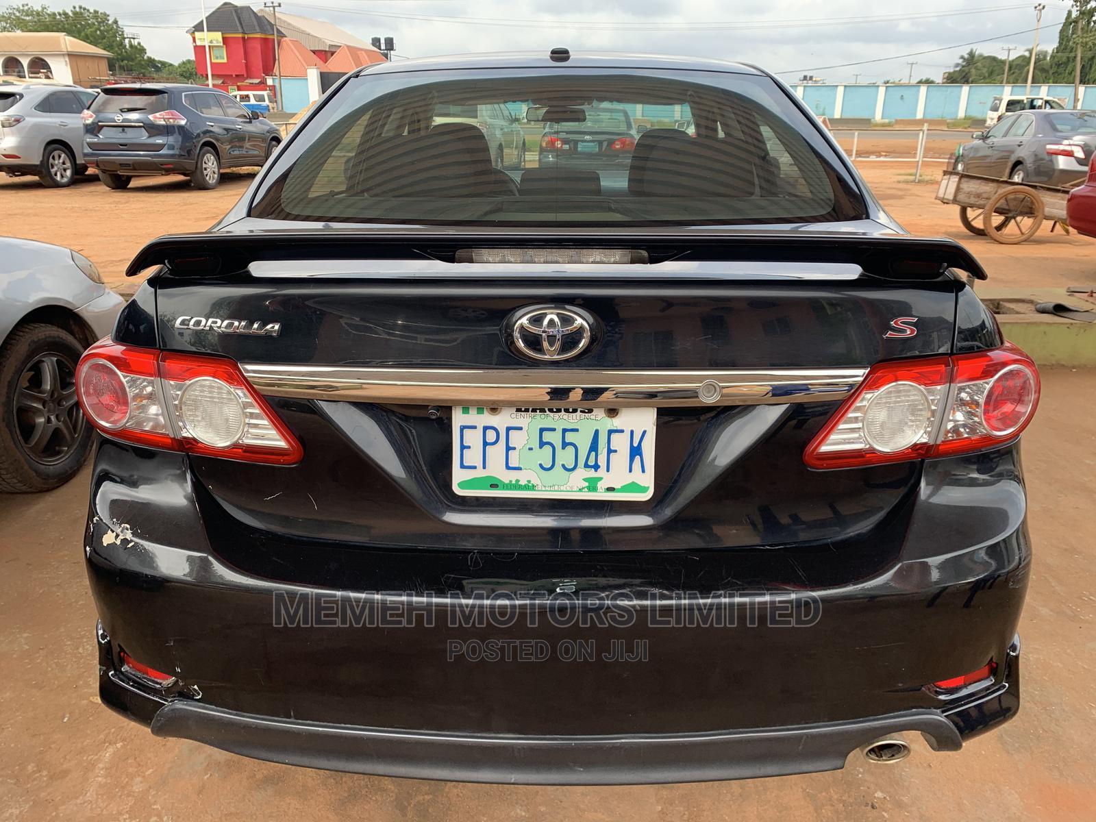 Toyota Corolla 2013 Black | Cars for sale in Oshimili South, Delta State, Nigeria