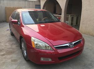 Honda Accord 2007 Red   Cars for sale in Lagos State, Alimosho