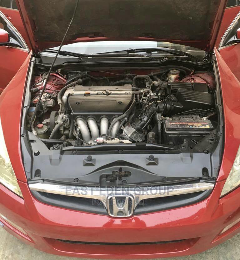 Honda Accord 2007 Red   Cars for sale in Alimosho, Lagos State, Nigeria