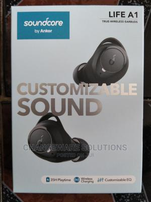 Anker Soundcore Life A1 Earbuds With Wireless Charging | Accessories for Mobile Phones & Tablets for sale in Lagos State, Gbagada