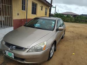Honda Accord 2003 2.4 Automatic Gold | Cars for sale in Lagos State, Ajah