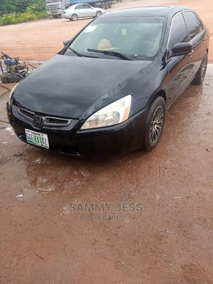 Honda Accord 2005 2.0 Comfort Black   Cars for sale in Abuja (FCT) State, Gwarinpa