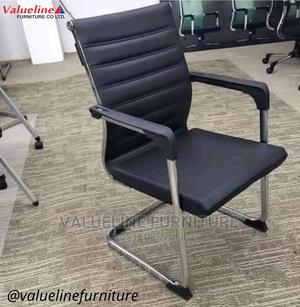 Black Executive Visitors Chair   Furniture for sale in Lagos State, Ikeja