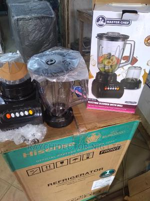 Master Chef Blender With Mill | Kitchen Appliances for sale in Lagos State, Ifako-Ijaiye