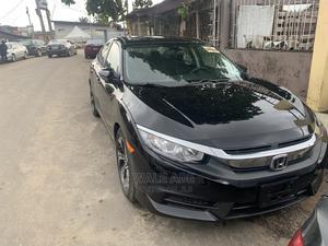Honda Civic 2016 Black   Cars for sale in Lagos State, Surulere