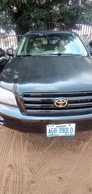 Toyota Highlander 2006 V6 Black | Cars for sale in Delta State, Oshimili South