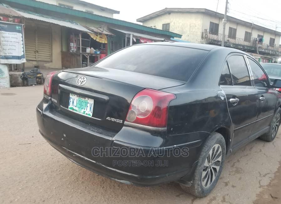 Toyota Avensis 2008 Black | Cars for sale in Ikeja, Lagos State, Nigeria