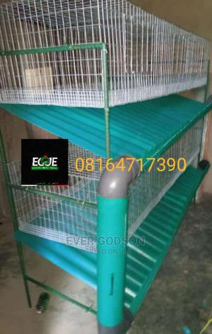 Rabbit Cage For Sale | Farm Machinery & Equipment for sale in Oyo State, Egbeda