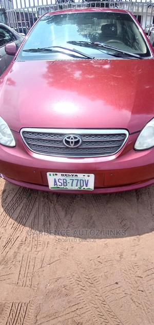 Toyota Corolla 2005 LE Red | Cars for sale in Delta State, Oshimili South