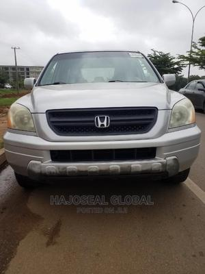 Honda Pilot 2004 EX 4x4 (3.5L 6cyl 5A) Gray | Cars for sale in Abuja (FCT) State, Durumi