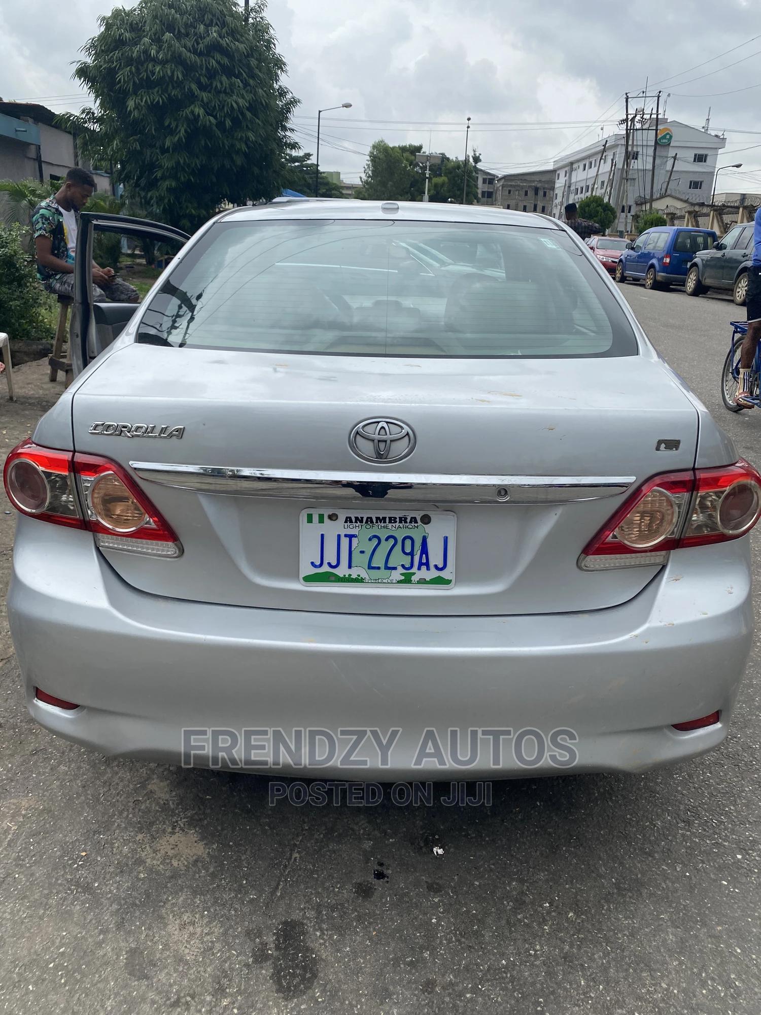Toyota Corolla 2012 Silver   Cars for sale in Ikeja, Lagos State, Nigeria