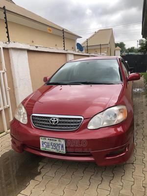 Toyota Corolla 2005 S Red   Cars for sale in Abuja (FCT) State, Garki 2