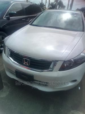 Honda Accord 2008 2.0i-Vtec Executive White | Cars for sale in Lagos State, Ogba