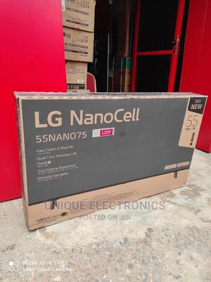 """LG 55"""" Nano Cell AI THINQ 4K Smart TV +Magic Remote 55nano75   TV & DVD Equipment for sale in Lagos State, Ojo"""
