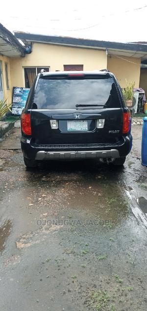 Honda Pilot 2003 EX-L 4x4 (3.5L 6cyl 5A) Black | Cars for sale in Lagos State, Apapa