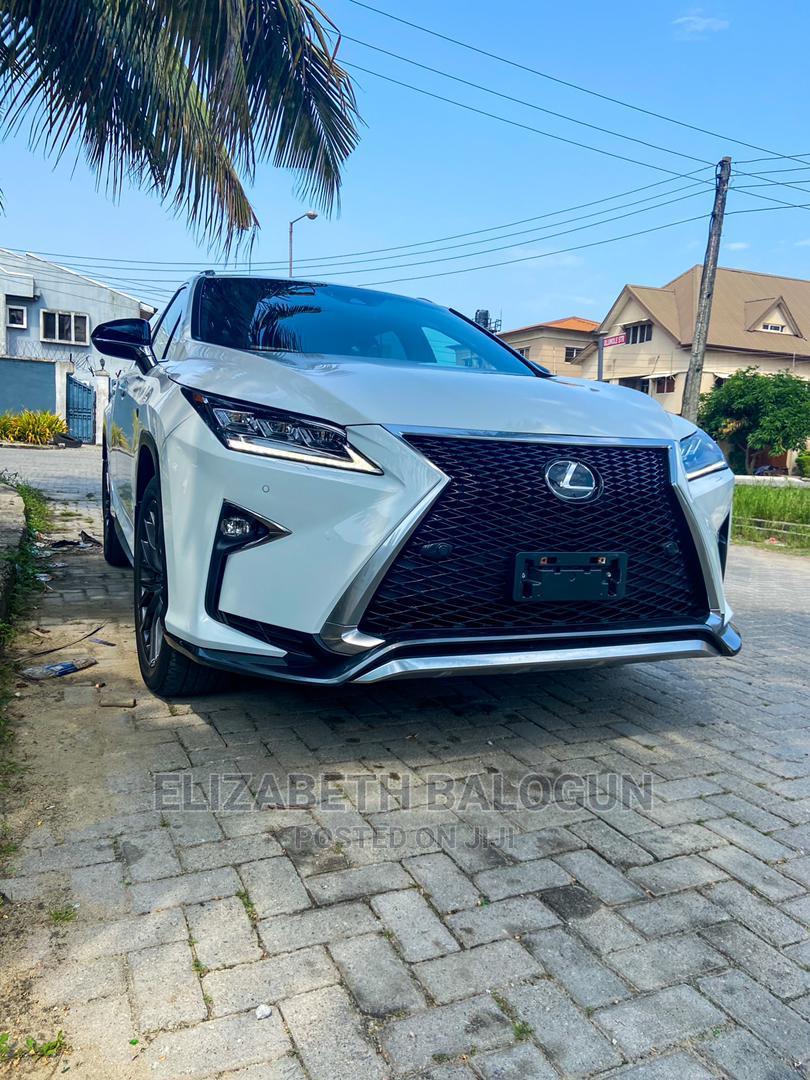 Lexus RX 2020 White