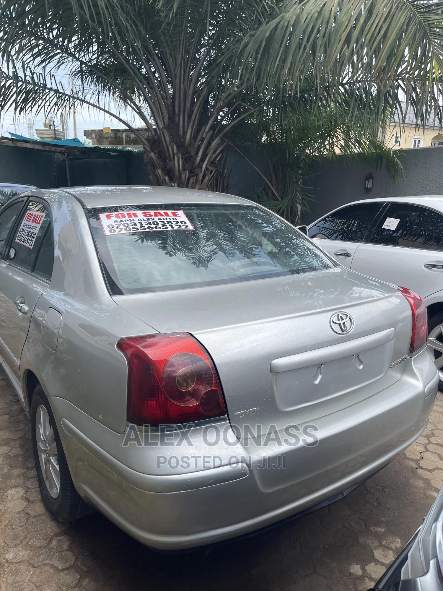Toyota Avensis 2008 Silver   Cars for sale in Ajah, Lagos State, Nigeria