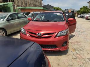 Toyota Corolla 2012 Red   Cars for sale in Lagos State, Ajah