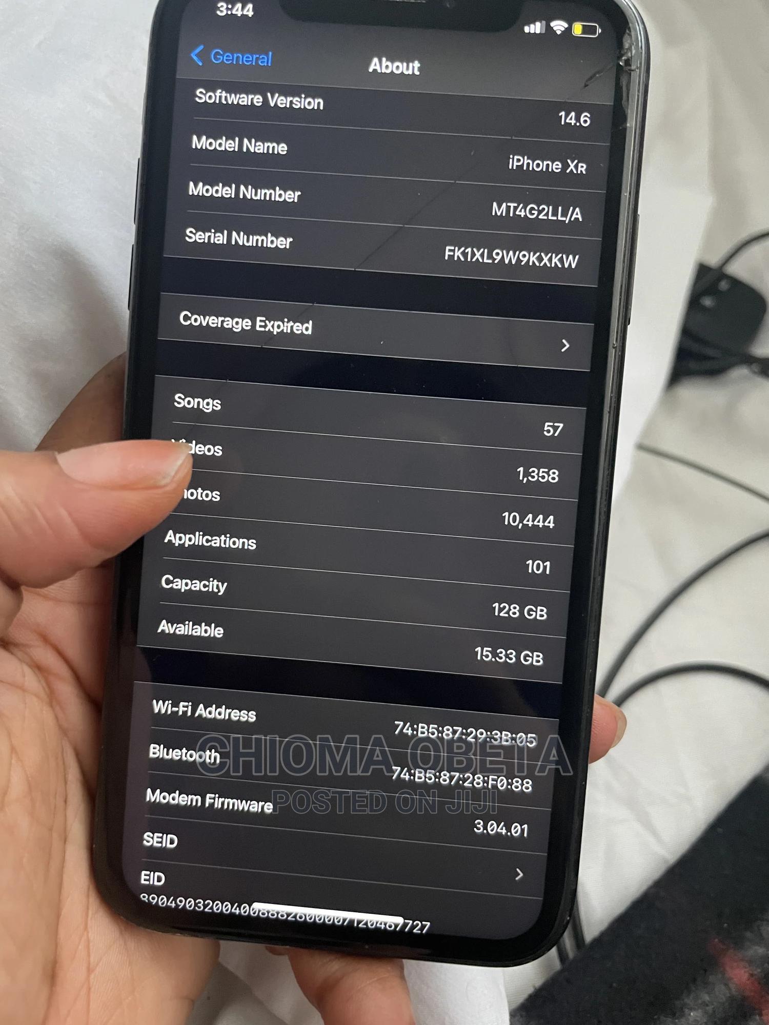 Apple iPhone XR 128 GB Black   Mobile Phones for sale in Lekki, Lagos State, Nigeria