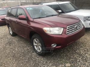 Toyota Highlander 2008 Limited Red   Cars for sale in Lagos State, Ojodu