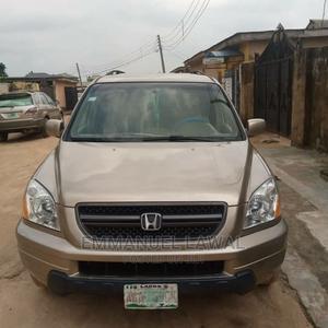 Honda Pilot 2004 Gold | Cars for sale in Lagos State, Ikorodu