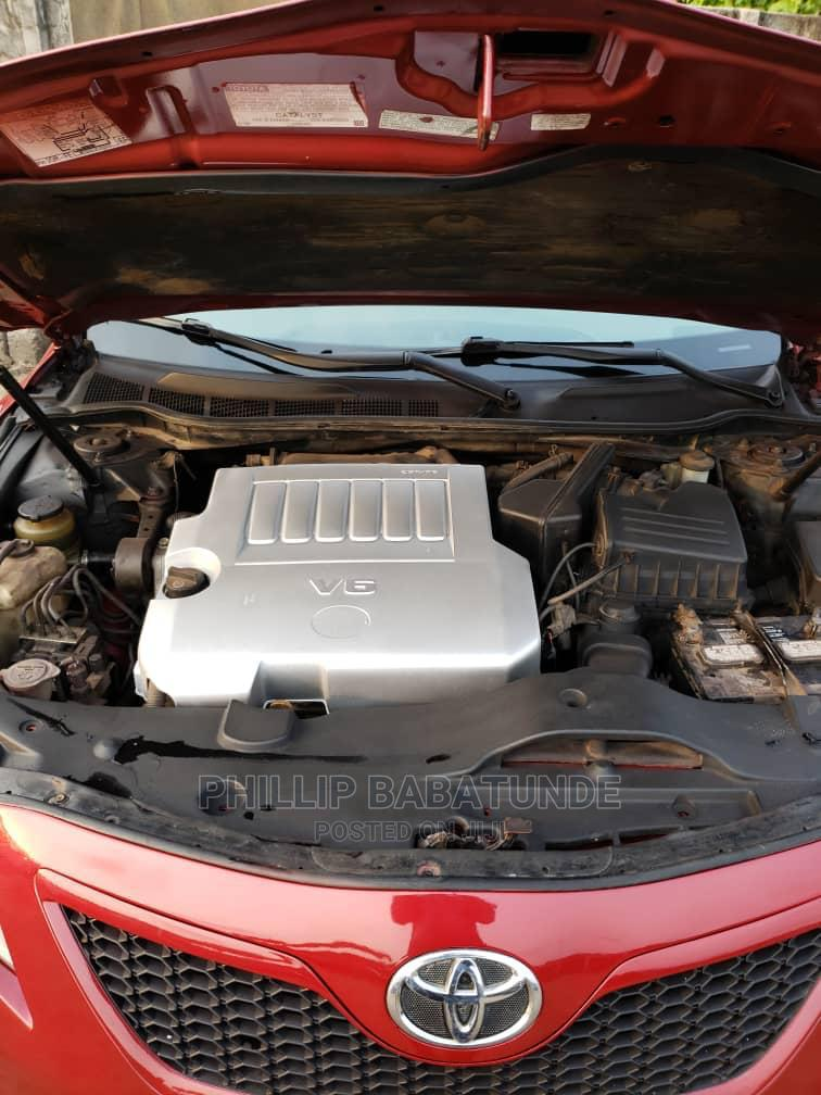 Toyota Camry 2009 Red | Cars for sale in Yaba, Lagos State, Nigeria