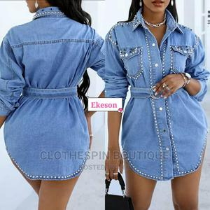Classy Jeans Gown | Clothing for sale in Lagos State, Oshodi